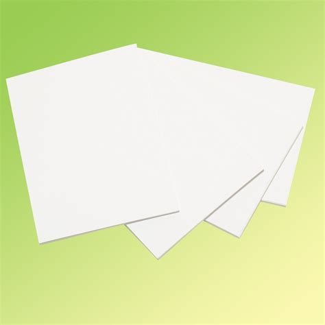 Paper For Card - a4 white card 250gsm pack of 10 sheets card paper