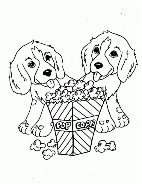 coloring pages for puppy free printable dog coloring pages for kids