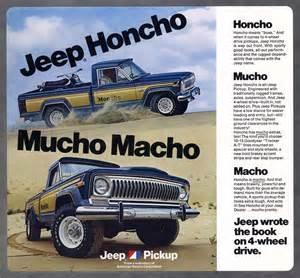 jeep honcho jeep 174 heritage 1976 1983 jeep j 10 honcho the jeep blog