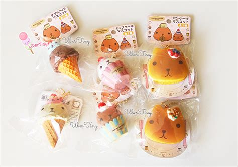 Squishy Licensed kapibarasan cafe icecream squishy licensed 183 uber tiny 183 store powered by storenvy