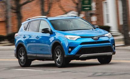 toyota slogan 2016 2016 toyota rav4 se awd test review car and driver