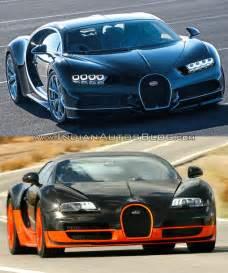 Bugatti Veyron Vs Bugatti Bugatti Chiron Vs Bugatti Veyron Indian Autos