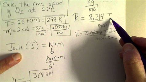 how to find out room temperature calculate the root square rms speed of oxygen gas at room temperature