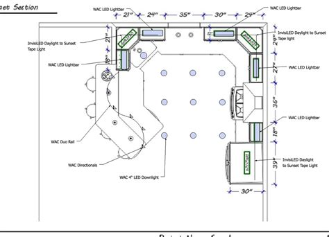 Kitchen Design Drawings showroom layouts western lighting it