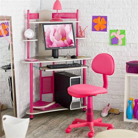 Computer Stool Chair Design Ideas Interesting Picture Of Colorful Kid Corner Desk For Kid Bedroom Decoration Coolhousy Home