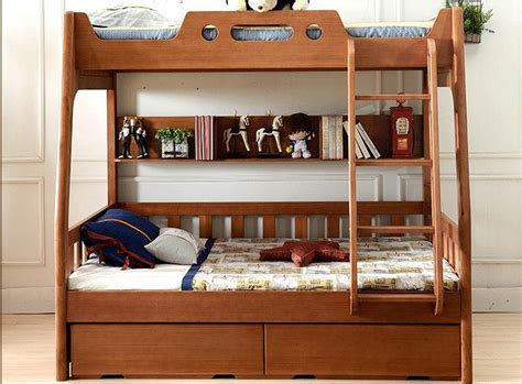 All Wood Bunk Beds All Solid Wood Bed Cluster Of American Children S Bed Bunk Bed And Bed Furniture In Beds