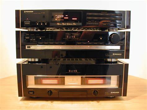 pioneer elite   amp   preamp  tuner pioneer