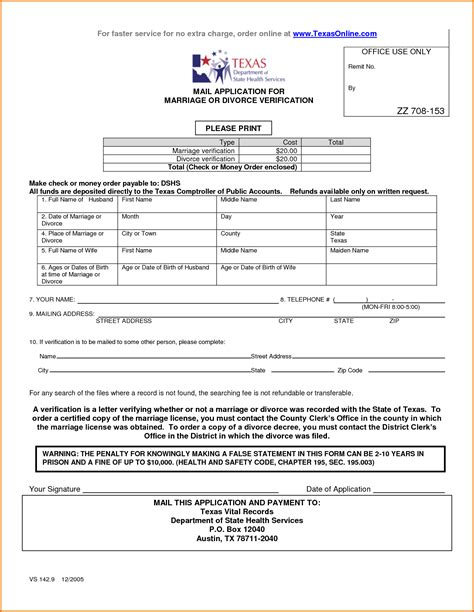 5 divorce papers texas divorce document