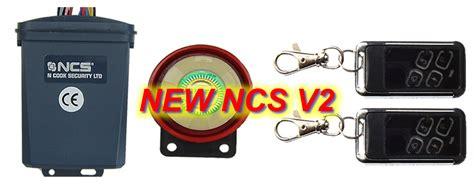 NCS V2 MOTORBIKE BIKE MOTORCYCLE ALARM & IMMOBILISER