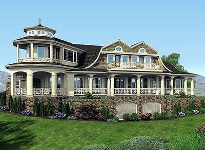Luxury Shingle Style House Plans by Luxurious Shingle Style Home Plan 23485jd