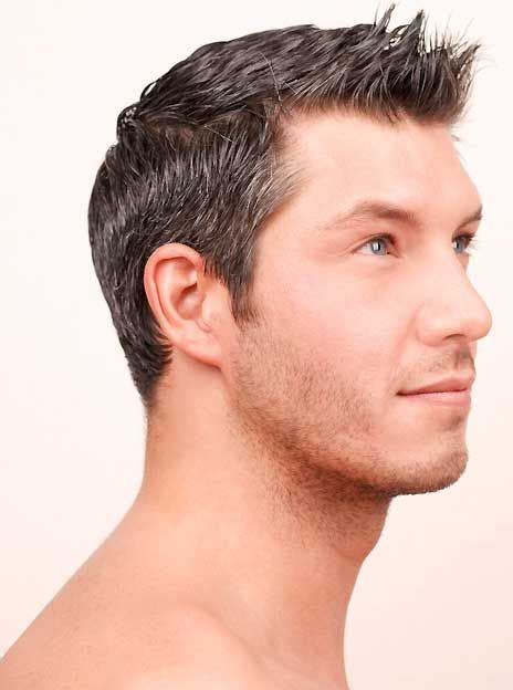 pictures of short hair cuts that spike upwards at the back short spiky hairstyles for men http heledis com man