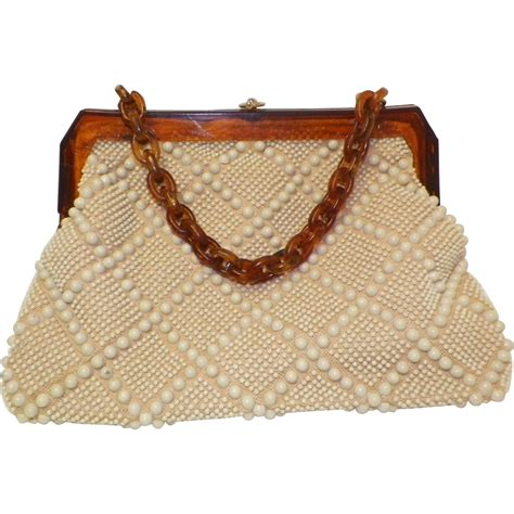 beaded purses vintage beaded purse laregale ltd sold on ruby