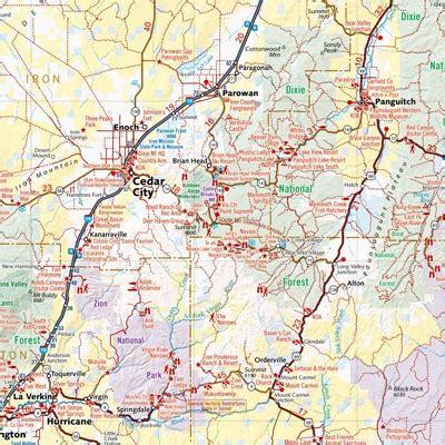 Map Of Utah Detailed Road Map Of The State Of Utah | best photos of utah road atlas utah road map utah road