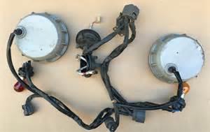 oem 04 06 nissan maxima xenon headlight back covers lid cap wiring harness set pair factory