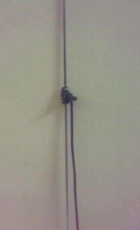 homebrew 2 meter radio antenna from ordinary tv rabbit ears antenna name my