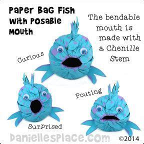Paper Bag Fish Craft - 62 best images about coin in fish s on