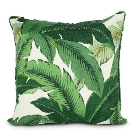 Palm Leaf Pillow by It S Summer Hello Palm Leaf Print Prints In Fashion