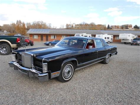 1979 lincoln continental value document moved