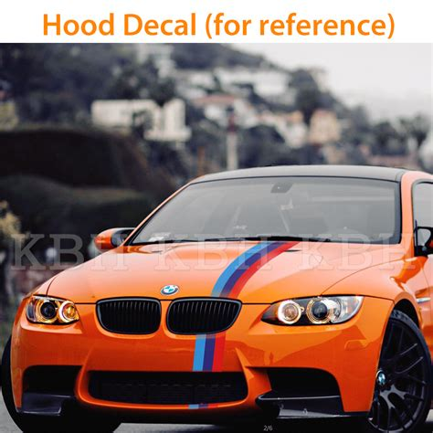 Bmw E91 Aufkleber by M Performance 3 Colors Hood Decal Stripe Sticker For Bmw