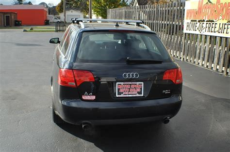 audi wagon black 2007 audi a4 quattro black turbo wagon car sale