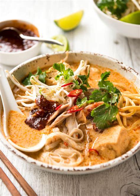 Singapore Laksa Paste Laksa Noodle Soup Recipetin Eats