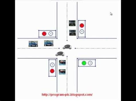 traffic light plc program plc program traffic light