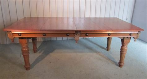 snooker dining table for sale arts and crafts oak snooker dining table by antiques atlas