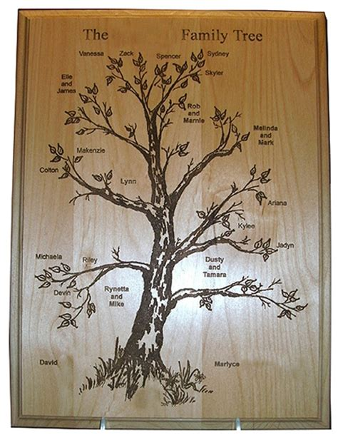 family woodworking 22 best images about engraved ideas on