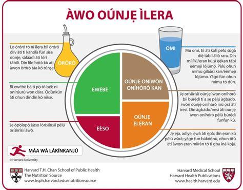carbohydrates q significa 192 wo o 250 njẹ 204 lera yoruba the nutrition source harvard