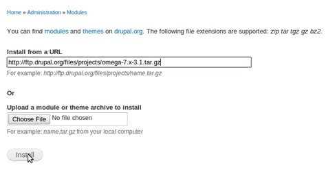 drupal theme update install and update drupal themes and modules automatically