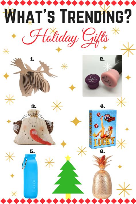 what s trending holiday gifts