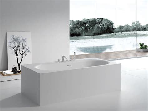 badewannen eckig freistehende badewanne sassari aus mineralguss wei 223