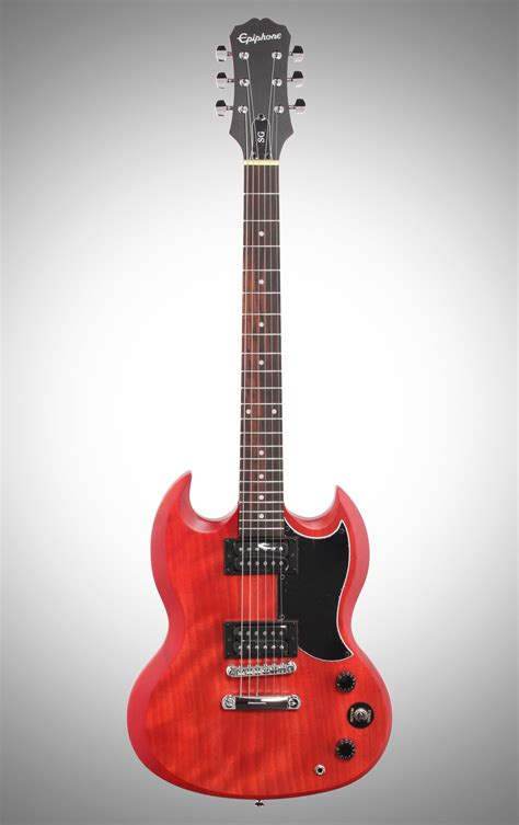 Gitar Epiphone Sg Special Hitam epiphone sg special ve electric guitar vintage cherry