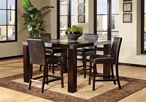 rooms to go dining room sets shop for a marsdale brown 5 pc dining room at rooms to go find dining room sets that will look