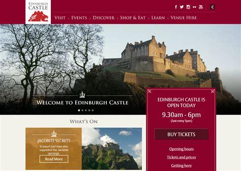 leaflet design edinburgh edinburgh castle in your pocket
