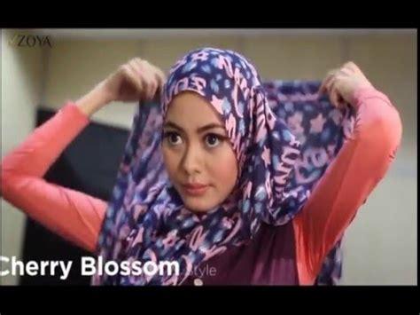 tutorial hijab zoya alia style zoya videolike