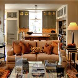 Small Open Concept Kitchen Living Room Small Open Kitchen Living Room Designs Simple Home