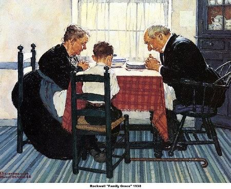 norman rockwell dinner table layman s norman rockwell celebrates