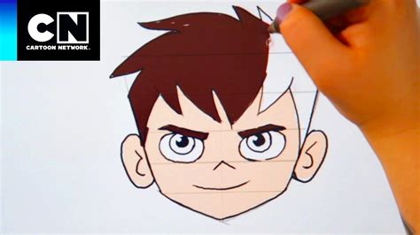 desenho cartoon aprenda a desenhar ben ben 10 network