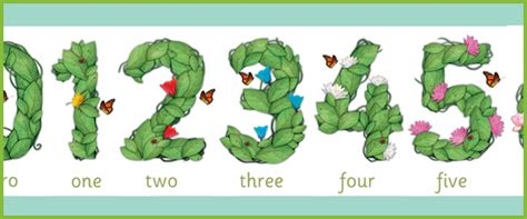 printable number games for early years floral display numbers free early years primary