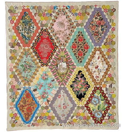 Hexagon Patchwork Patterns Free - 1000 ideas about hexagon quilt pattern on
