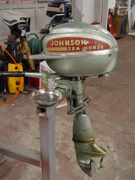 old johnson boat motors beyond the sea horse outboard motor restoration step by