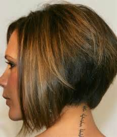 graduated bob hairstyles back view best victoria beckham bob hairstyles short hairstyles