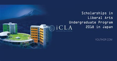 Liberal Arts College Undergrad Mba Admissions by Scholarships In Liberal Arts Undergraduate Program 2018 In