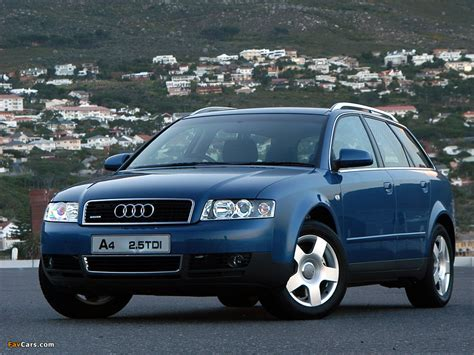Audi A4 2001 by 2001 Audi A4 Avant 2 5 Tdi Quattro Related Infomation