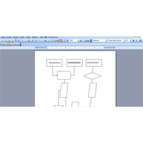 ms word flowchart how to make flow charts in word flow chart for microsoft