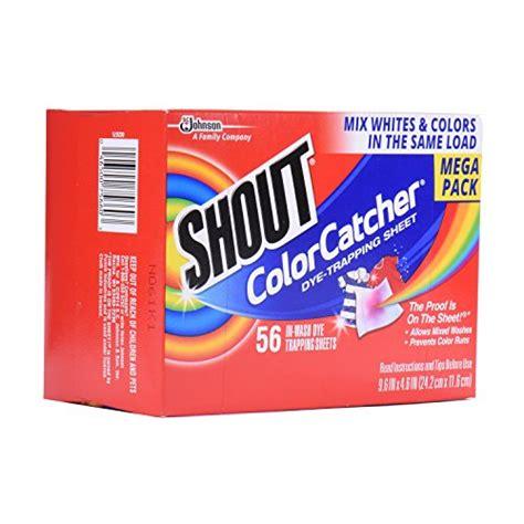 color catcher shout color catcher sheets 56 count new ebay
