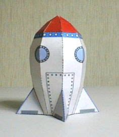 Papercraft Rocket - 1000 images about homework ideas on