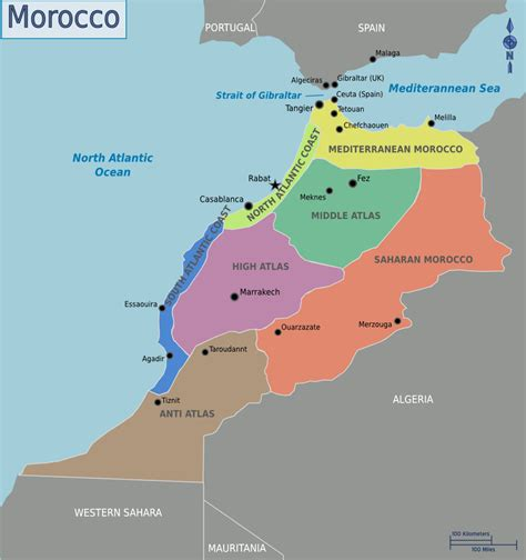 world map of morocco morocco map location and country map morocco travel