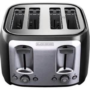Black And Decker Toaster Review Black And Decker 4 Slice Toaster Walmart Com